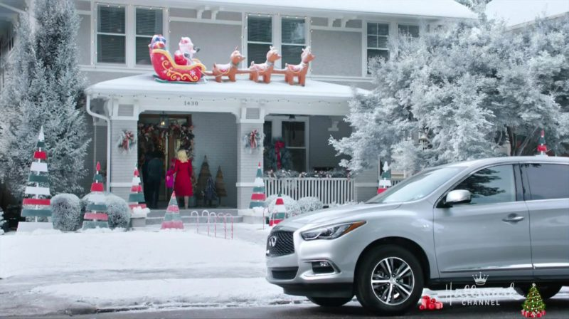 Infiniti QX60 Crossover Car Used by Kellie Pickler in Christmas at Graceland (2018) Movie Product Placement