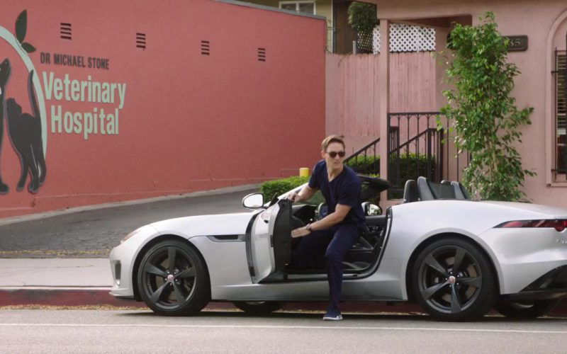 Jaguar F-TYPE Convertible Luxury Vehicle Used by Jon Bass in Dog Days (1)