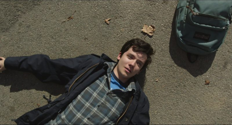 Jansport Backpack Used By Asa Butterfield In Time Freak