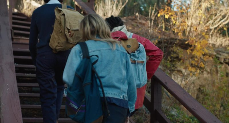 Jansport Backpack Used by Chloë Grace Moretz in The Miseducation of Cameron Post (2018) Movie Product Placement