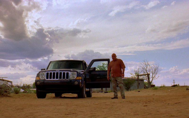 Jeep Commander Sport [XK] Car Used by Dean Norris (Hank Schrader) in Breaking Bad Season 2 Episode 2