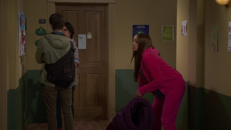 Juicy Couture Velour Tracksuit Worn by Amber Stevens West in Happy Together Season 1 Episode 7: How Jake and Claire Met (2018) - TV Show Product Placement