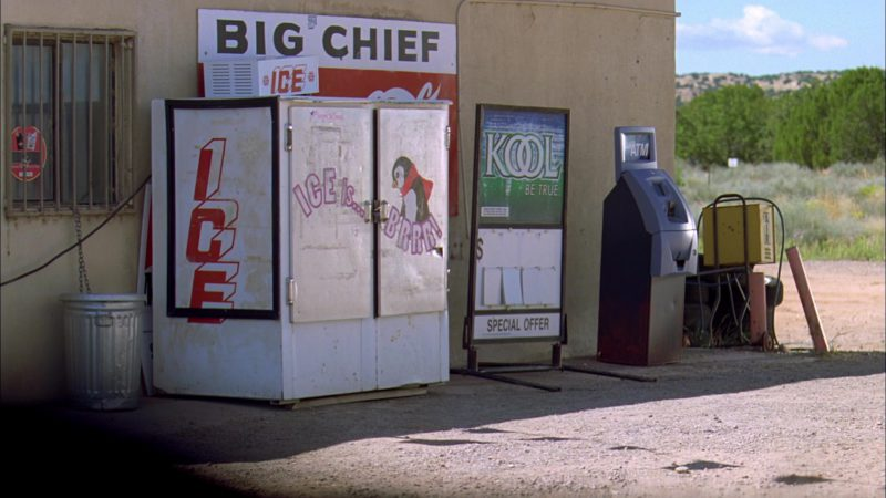 Kool Cigarettes Outdoor Advertising in Breaking Bad Season 3 Episode 4: Green Light (2010) TV Show Product Placement
