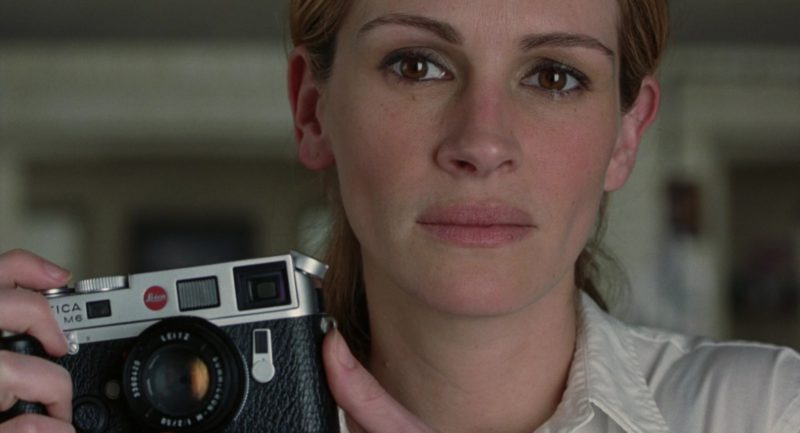 Leica M6 Camera Used by Julia Roberts in Closer (2004) Movie Product Placement