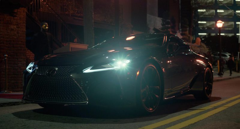 Lexus Lc Car In Superfly 2018 Movie