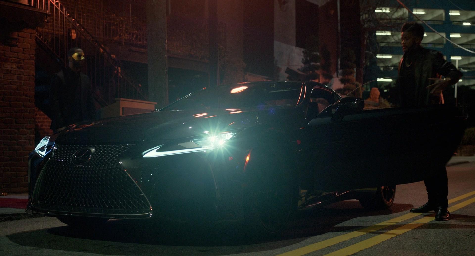 Range Rover Sport >> Lexus LC Car in SuperFly (2018) Movie