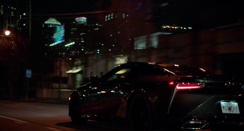 Lexus LC Car in SuperFly (2018) - Movie Product Placement