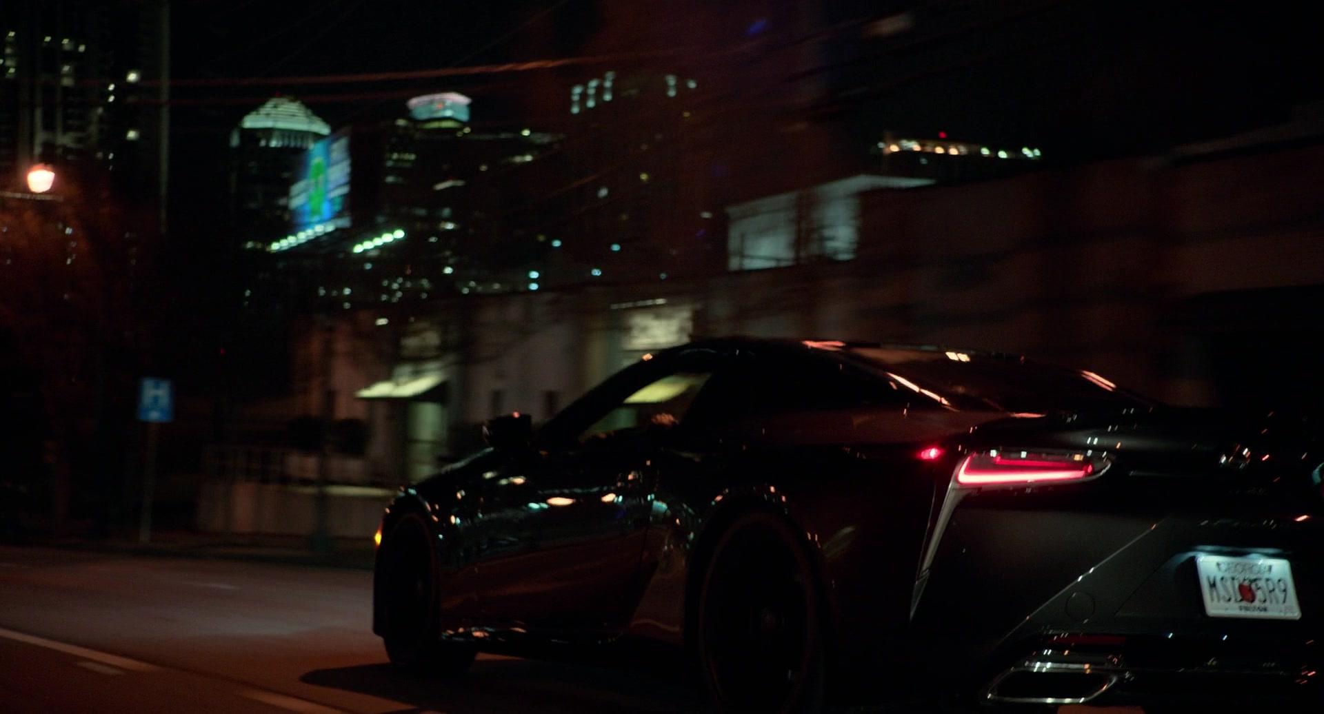 Lexus LC Car in SuperFly (2018) Movie