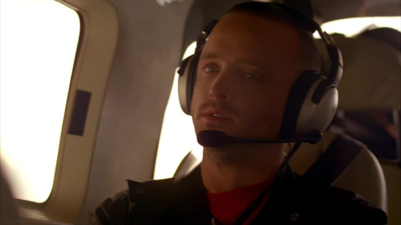 "Lightspeed Aviation Headsets Worn by Aaron Paul (Jesse Pinkman) in Breaking Bad Season 4 Episode 10 ""Salud"" (2011) - TV Show Product Placement"