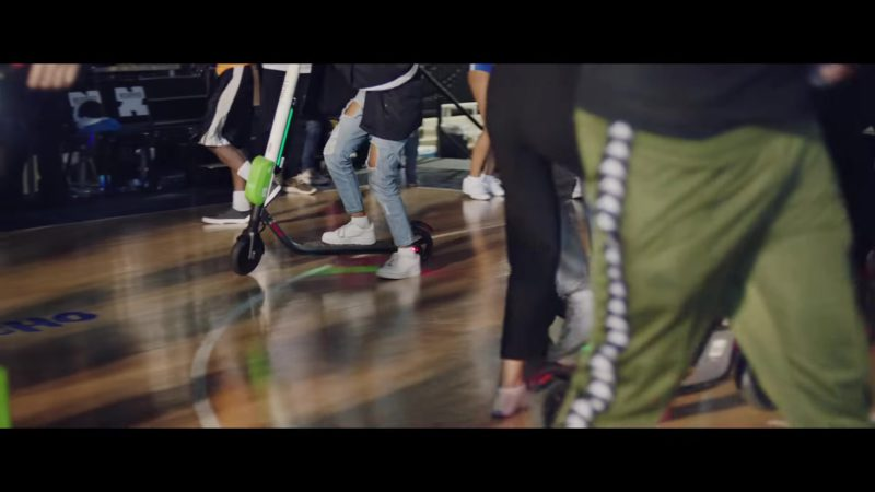 "Lime Electric Scooters in ""HOW BOUT THAT?"" by Quavo (2018) Official Music Video Product Placement"