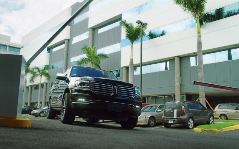 Lincoln Navigator SUV Driven by Edi Gathegi (Ronald Dacey) in StartUp (1)