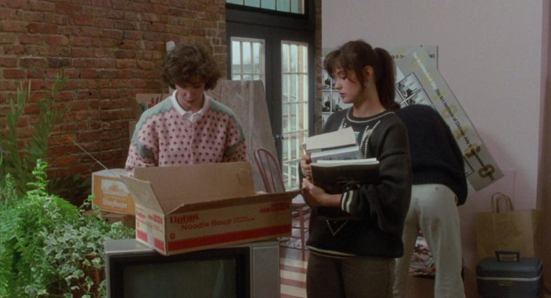Lipton Noodle Soup Box in About Last Night… (1986) Movie Product Placement