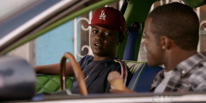 LA Dodgers '47 Brand Cap Worn by Bre-Z in All American Season 1 Episode 4: Lose Yourself (2018) TV Show Product Placement