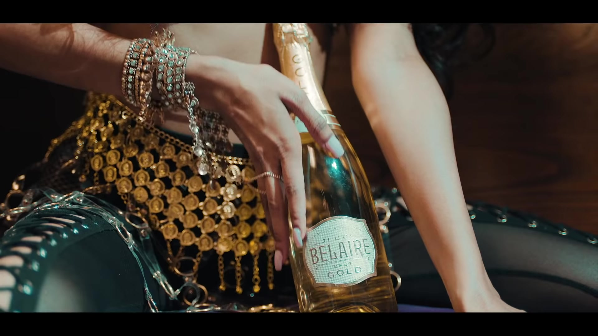 "37739720f7ee Luc Belaire Brut Gold Sparkling Wine in ""I m Not Goin "" by Gucci ..."