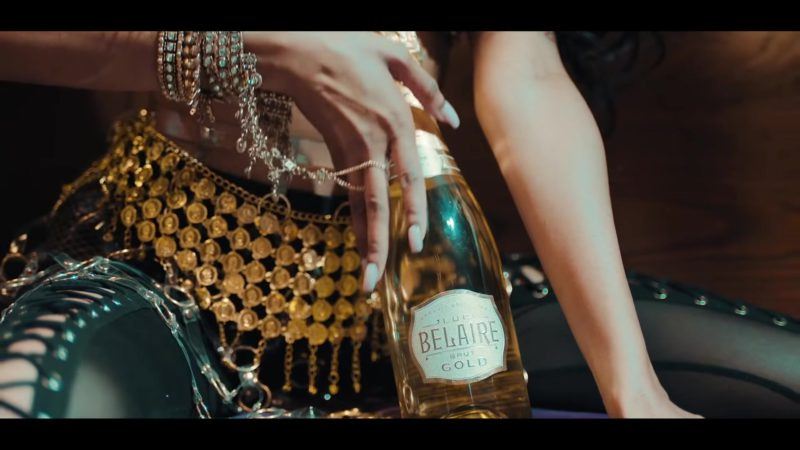 "Luc Belaire Brut Gold Sparkling Wine in ""I'm Not Goin'"" by Gucci Mane feat. Kevin Gates (2018) - Official Music Video Product Placement"