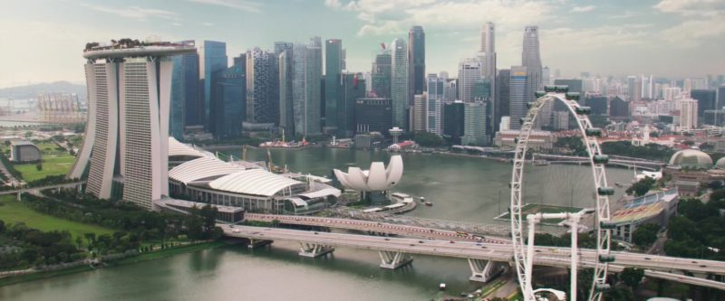 Marina Bay Sands Hotel in Crazy Rich Asians (2018) - Movie Product Placement