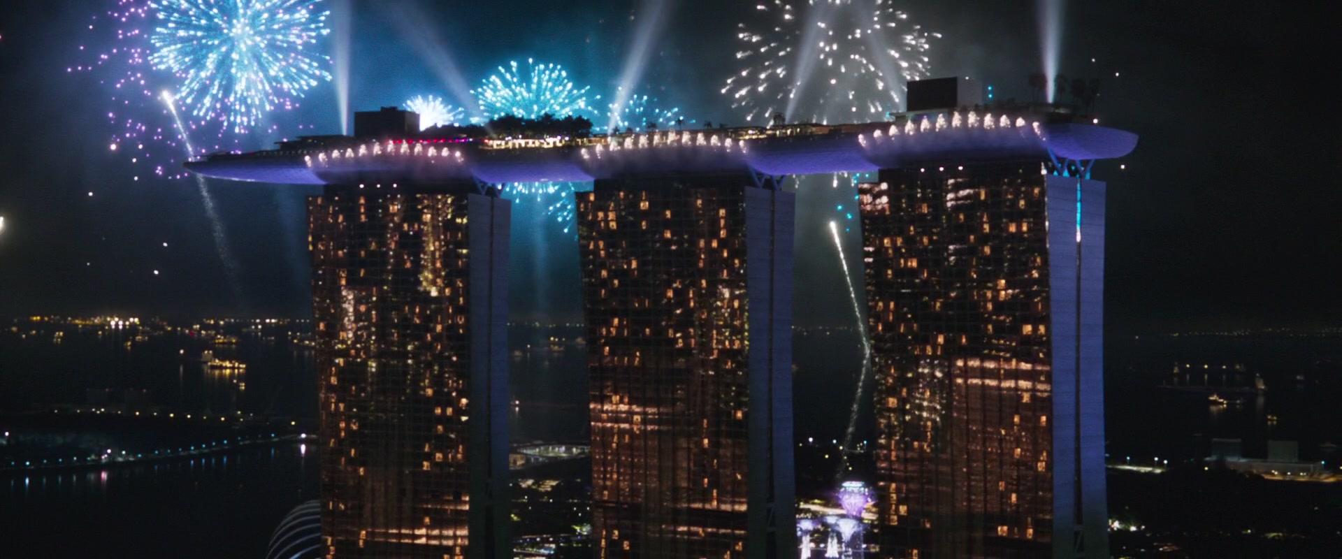Marina Bay Sands Hotel In Crazy Rich Asians 2018 Movie