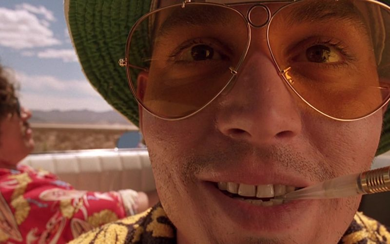 Marlboro Cigarette in Fear and Loathing in Las Vegas