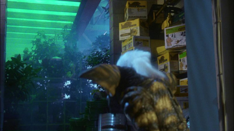 McCulloch Eager Beaver Chainsaws in Gremlins (1984) Movie Product Placement