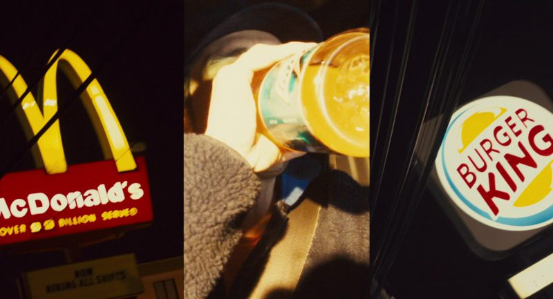 McDonald's and Burger King Fast Food Restaurants and Gatorade in 127 Hours (2010) - Movie Product Placement
