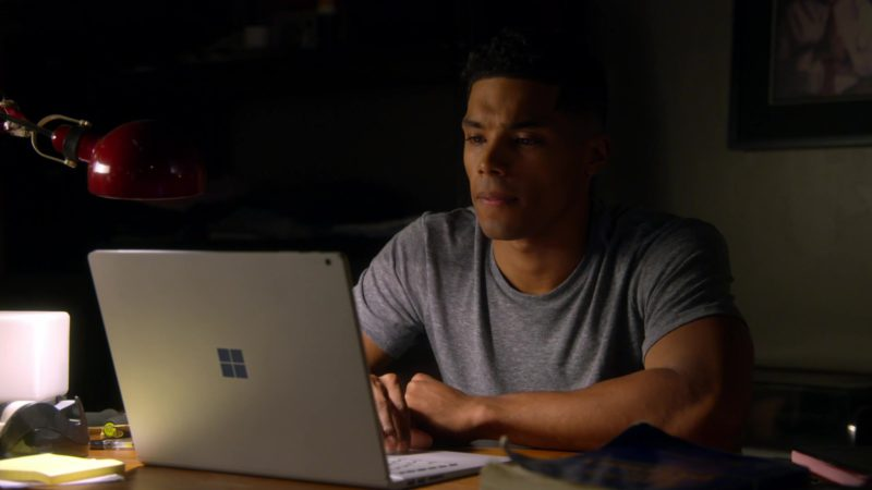 Microsoft Surface Laptop Used by Rome Flynn in How to Get Away with Murder: I Got Played (2018) TV Show Product Placement
