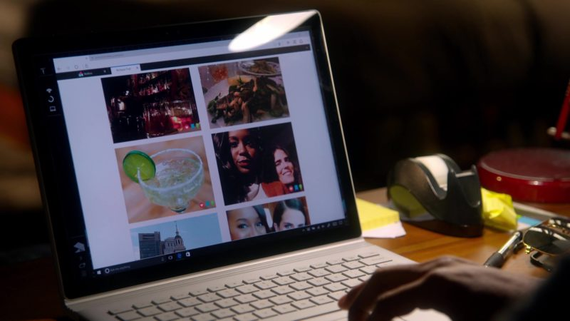 Microsoft Surface Laptop Used by Rome Flynn in How to Get Away with Murder: I Got Played (2018) - TV Show Product Placement