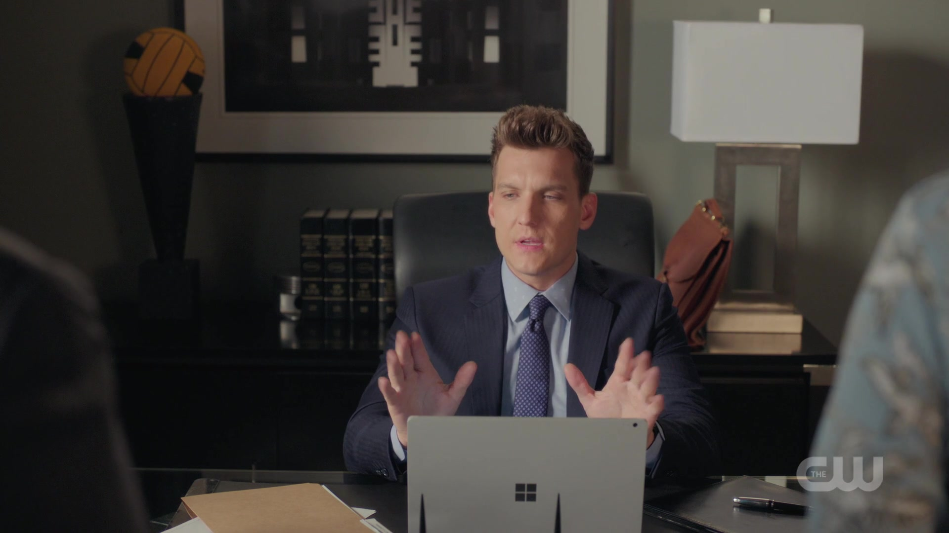 Microsoft Surface Laptop Used by Scott Michael Foster Crazy Ex