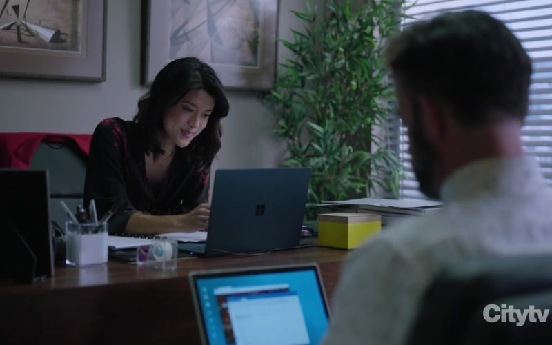 Microsoft Surface Notebook Used by Grace Park in A Million Little Things Season 1 Episode 7 (1)