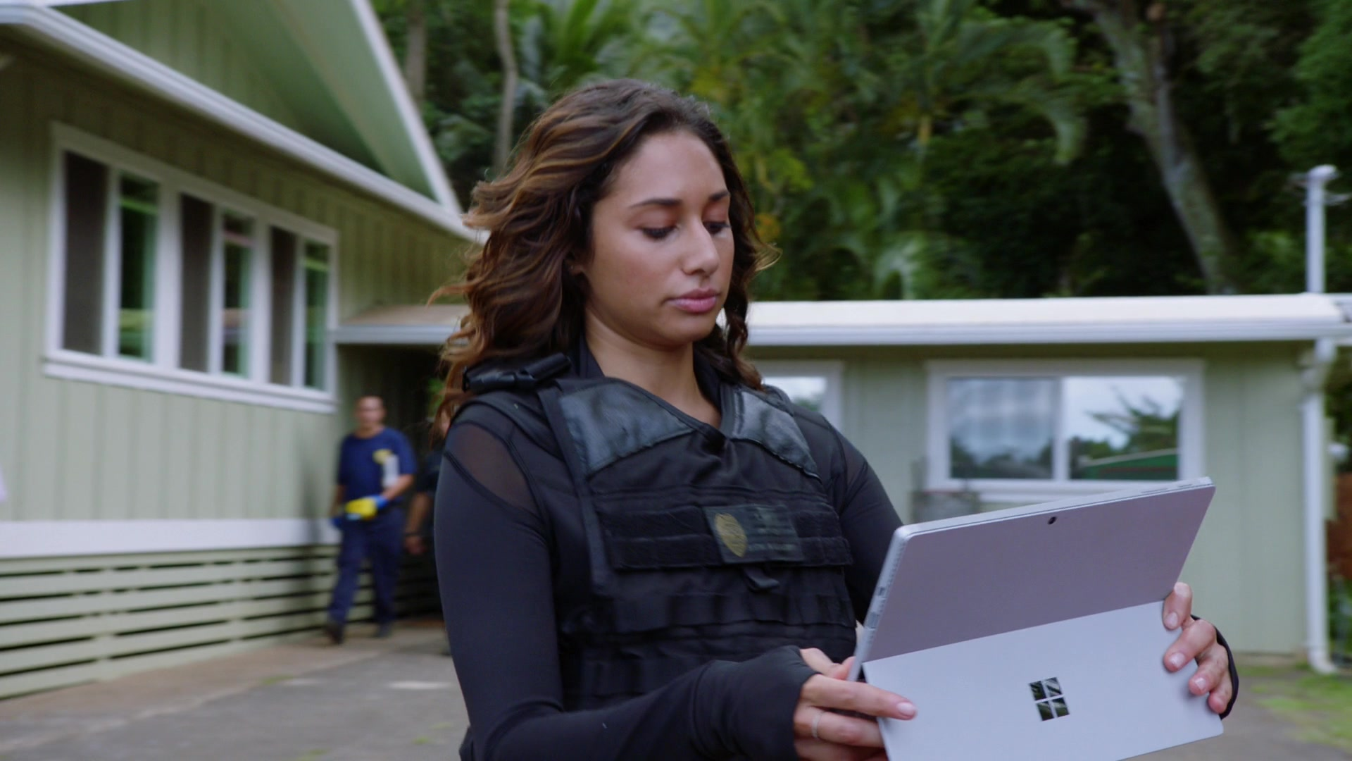 Microsoft Surface Tablet Used by Meaghan Rath (Tani Rey) in