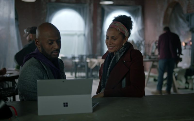Microsoft Surface Tablet Used by Romany Malco in A Million Little Things (5)