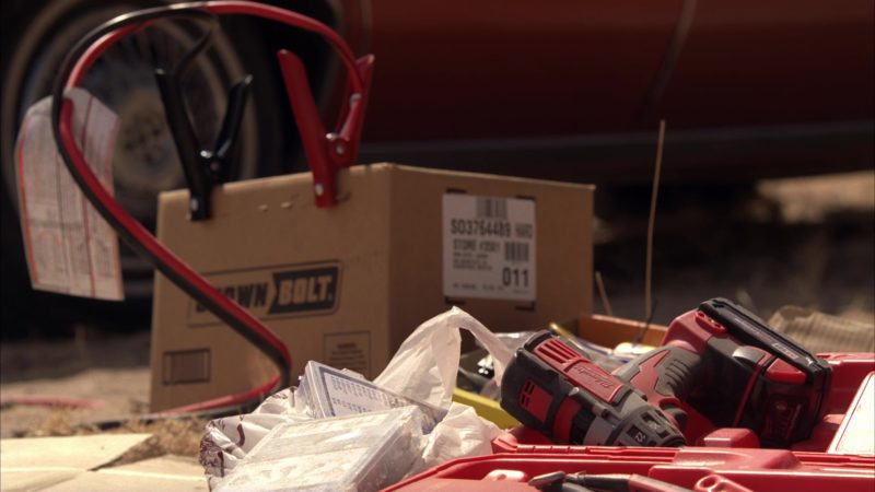 """Milwaukee Jig Saw and Crown Bolt Box in Breaking Bad Season 5 Episode 16 """"Felina"""" (2012) - TV Show Product Placement"""
