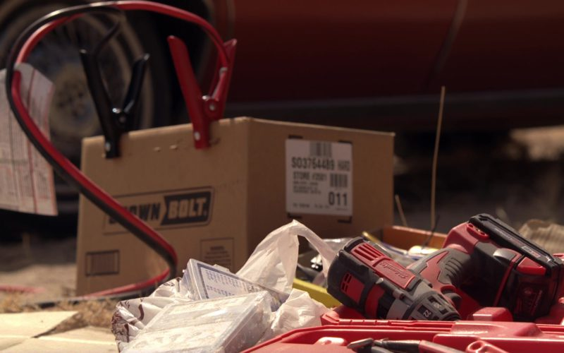 Milwaukee Jig Saw and Crown Bolt Box in Breaking Bad Season 5 Episode 16