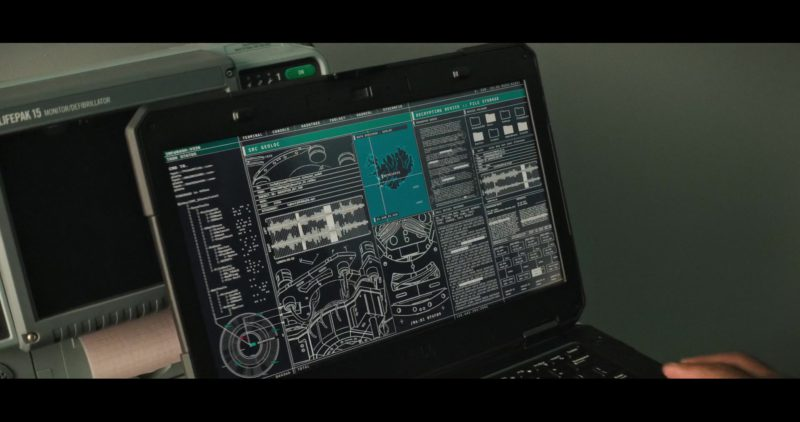 Dell Notebook Used by Ving Rhames (Luther Stickell) in Mission: Impossible – Fallout (2018) Movie Product Placement