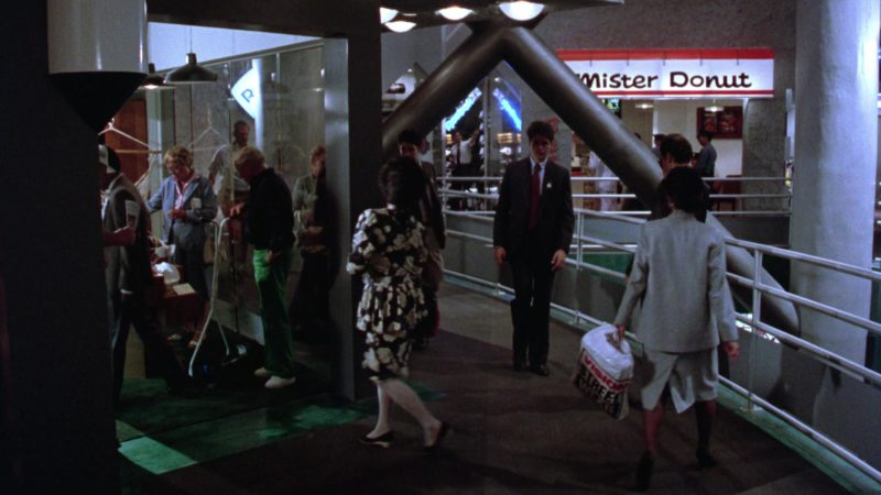 Mister Donut Sign in Gremlins 2: The New Batch (1990) - Movie Product Placement