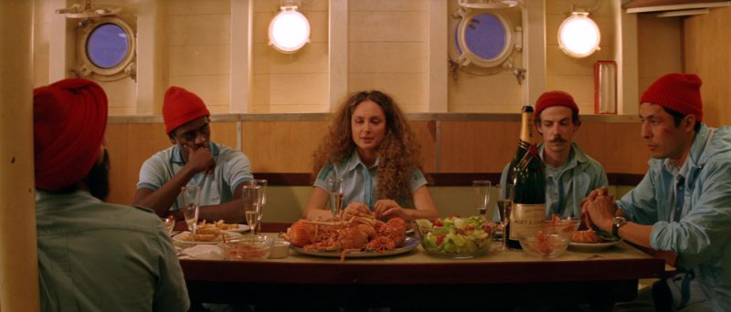 Moët & Chandon Champagne Bottle in The Life Aquatic with Steve Zissou (2004) - Movie Product Placement