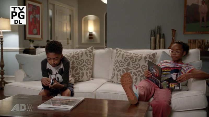 New Balance Girls Sneakers in Black-ish Season 5 Episode 4: Purple Rain (2018) - TV Show Product Placement