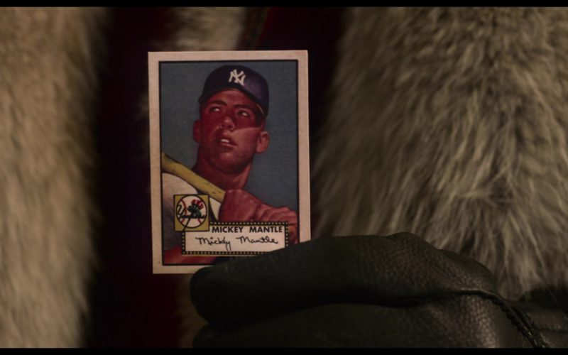 New York Yankees Baseball Card in The Christmas Chronicles