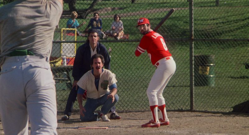 Nike Baseball Cleats in About Last Night… (1986) - Movie Product Placement