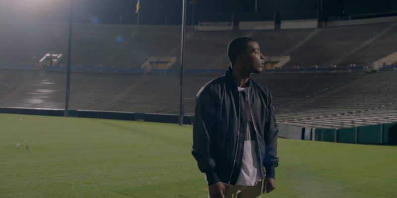 Nike Bomber Jacket (Air Max) Worn by Daniel Ezra in All American Season 1 Episode 5: All We Got (2018) TV Show
