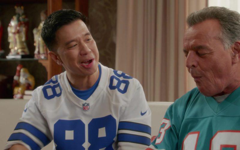 Nike NFL Jersey in Fresh Off the Boat Season 5 Episode 5