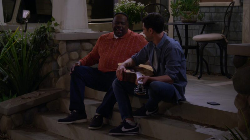 Nike Sneakers Worn by Max Greenfield in The Neighborhood Season 1 Episode 7: Welcome to the Barbershop (2018) - TV Show Product Placement