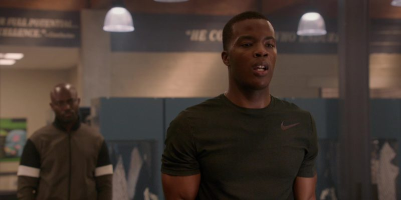 Nike Tee Worn by Daniel Ezra in All American Season 1 Episode 5: All We Got (2018) TV Show Product Placement