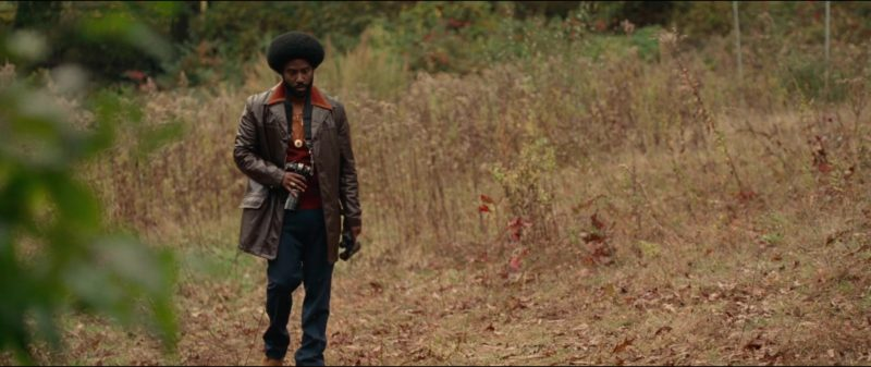 Nikon Camera Used by John David Washington in BlacKkKlansman (2018) Movie Product Placement
