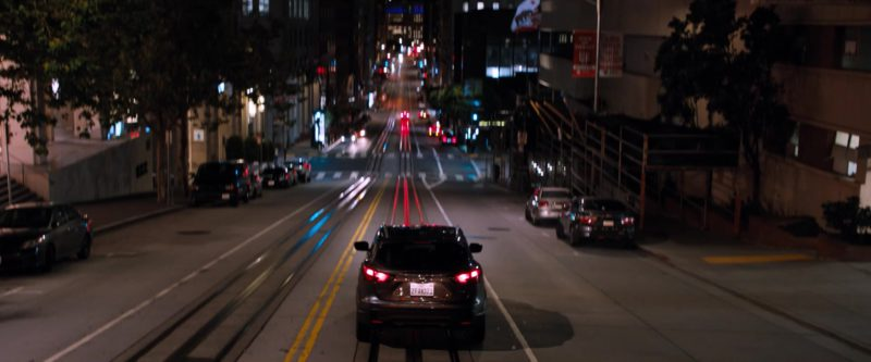 Nissan Car Used by Michelle Williams in Venom (2018) - Movie Product Placement