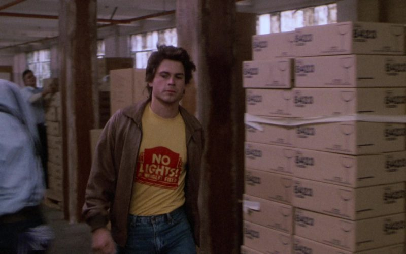 No Lights in Wrigley Field T-Shirt Worn by Rob Lowe in About Last Night (1)