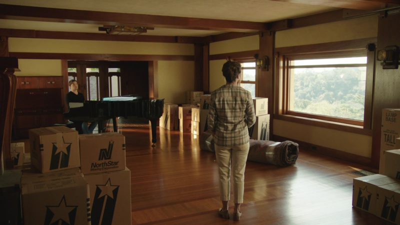 """NorthStar Moving Company Boxes in The Romanoffs Season 1, Episode 5, """"Bright and High Circle"""" (2018) TV Show"""