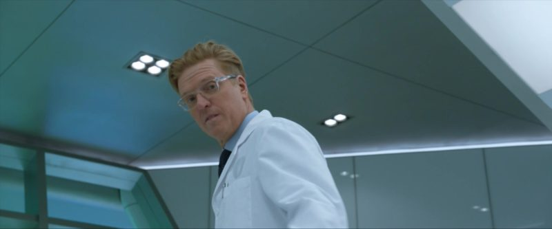 Oakley Eyeglasses (Hyperlink Model)  Worn by Jake Busey in The Predator (2018) - Movie Product Placement