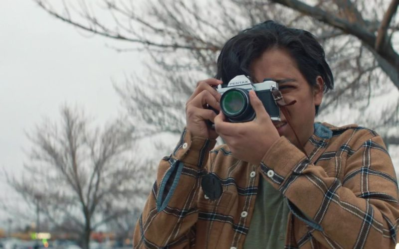 Pentax Camera Used by Tony Revolori in The Long Dumb Road (1)
