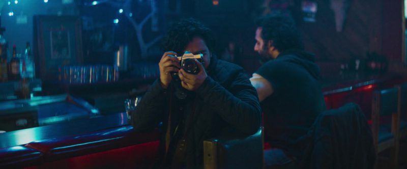 Pentax Camera Used by Tony Revolori in The Long Dumb Road (2018) - Movie Product Placement