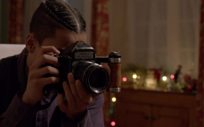 Pentax Vintage Camera Used by Quincy Taylor Brown in The Holiday Calendar (1)